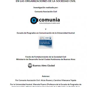 La comunicación con los destinatarios en las organizaciones de la sociedad civil